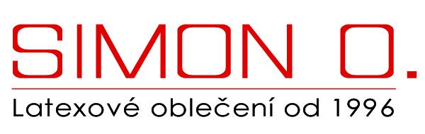 SIMON O. Latexové oblečení CZ logo